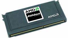 Der K7 alias Athlon im Slot-A-Gehäuse, das er einführte - seine Vorgänger, bald aber auch seine Nachfolger saßen in konventionellen Sockeln.