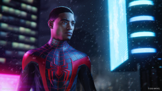 Spider-Man: Miles Morales: Technology comparison of the PS4 and PS5 version in the video (1)