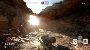 Star Wars Battlefront Beta: Die PCGH-Benchmarkszene im Video