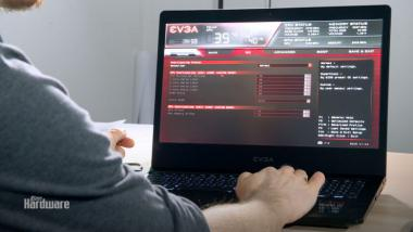 EVGA SC17: Das Overclocking-Notebook-Debüt im Video ausprobiert
