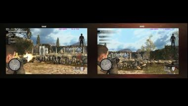 Sniper Elite 4: Ryzen 7 1800x gegen Intel Core i7 6900K im AMD-Video