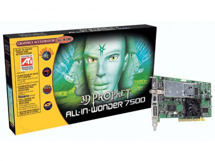 Die neue 3D Prophet All-in-Wonder 7500.
