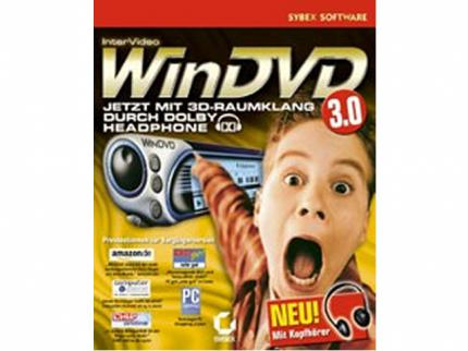 WinDVD Dolby-Headphone-Bundle: Software-DVD-Player & Kopfhörer für 35 €
