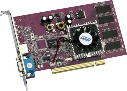 PNY: Geforce 4 MX420 als PCI-Karte
