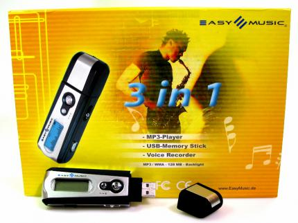 We Come: USB-Stick-MP3-Player