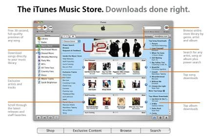 Apple iTunes Music Store: 2 Millionen Songs verkauft