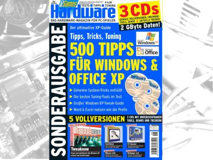 "PCGH-Sonderheft ""500 Tipps für Windows & Office XP"""