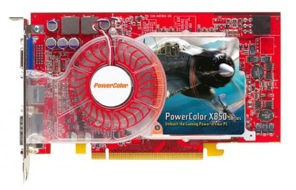 "Powercolor X850 XT PE mit ""Pacific Fighters"""