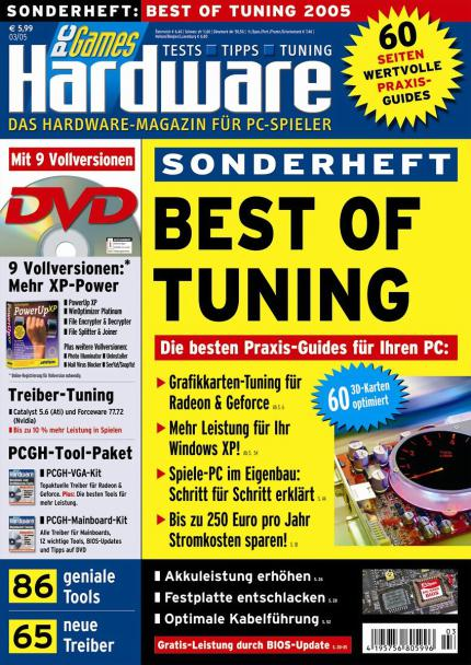 "PCGH: Neues Sonderheft "" Best of Tuning """