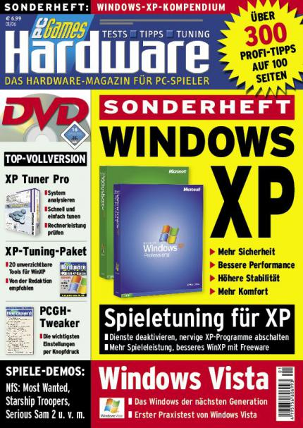 "Neues Sonderheft "" Windows XP """