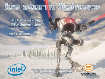 "Intel ""Ice Storm Fighters""-Demo"