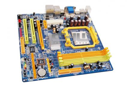 'Geforce 7050' und 'Nforce 630a'-basiertes Motherboard. Quelle Chilehardware