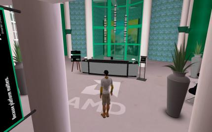 AMD in Second Life