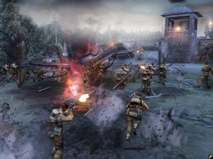 Company of Heroes-Add-on mit DX-10-Grafik