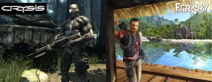Bildvergleich: Far Cry (dt.) vs. Crysis