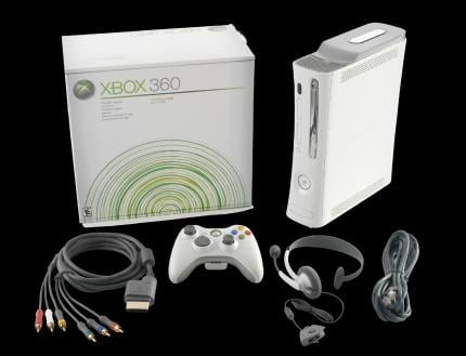 Microsoft's Xbox 360 is the only console that didn't suffer from a big decline in sales.