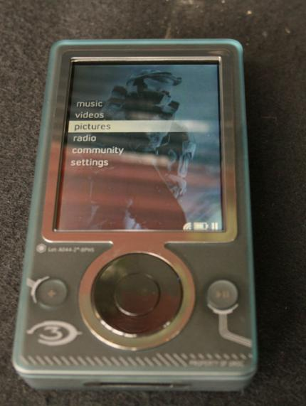 Zune-Player im Halo-3-Look (Bild: Gizmodo.com)
