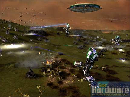 Erste Screenshots von Supreme Commander: Forged Alliance