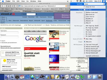 Apples Safari 3 Beta unter Windows problematisch