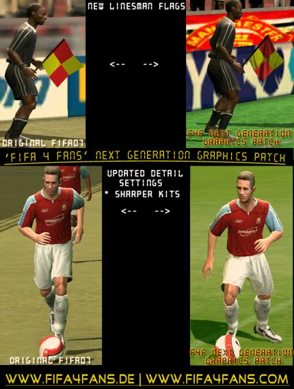 FIFA 07: Next Generation Graphics Patch