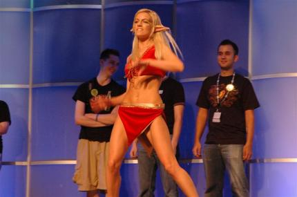 Blizzcon 2008. Hier: Look-Alike Dance-Contest mit dem Thema World of Warcraft
