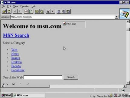 The Internet Explorer 1.0 was not very successful. (picture: img2.zol.com.cn)