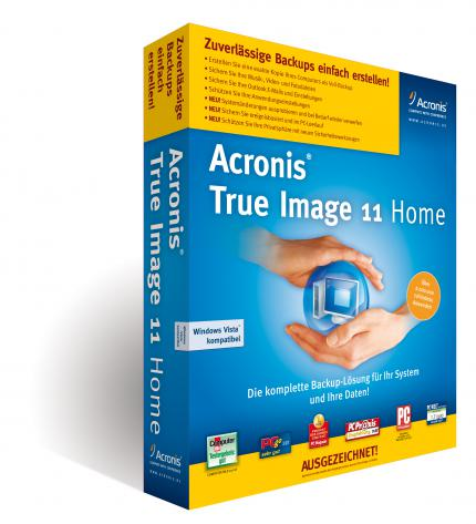 Acronis True Image Home: Version 11 angekündigt