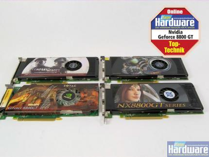 PCGH Exklusiv: Nvidia Geforce 8800 GT im Test (Update: 3D-Mark-Werte und Retail-Modelle der Board-Partner)
