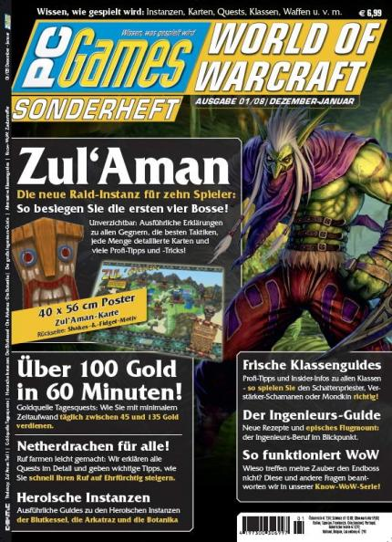 PC Games World of Warcraft Sonderheft sucht neue Praktikanten!