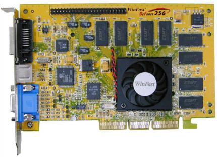 A Geforce 256 - this version still got SDR RAM
