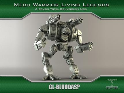 Crysis-Mod: Mechwarrior: Living Legends - Bilder der Mechs