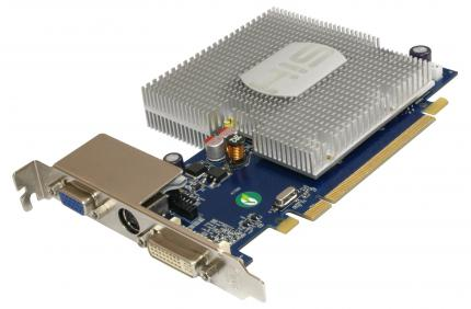 HIS Radeon HD 3450: 256 MiByte DDR2 (Bild: HIS)