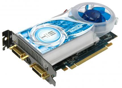 HIS Radeon HD 3650: 512 MiByte GDDR3 (Bild: HIS)