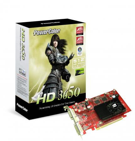 Powercolor Radeon HD3650: 512 MiByte DDR2 (Bild: Powercolor)