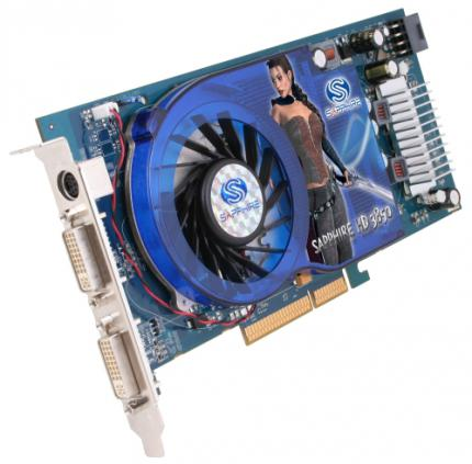 Will the Radeon HD 3000 series (here: HD 3850) be renamed? (picture: Sapphire)