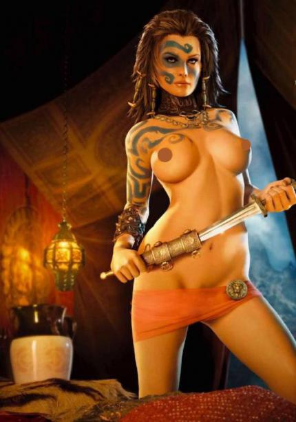 Die Frauen in Age of Conan