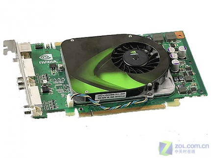 Nvidia Geforce 9500 GT: Compact design (picture: vga.zol.com.cn)
