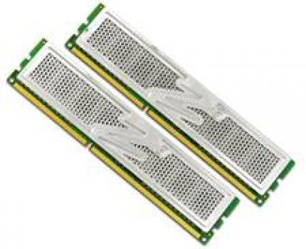 The OCZ DDR3-2000 PC3-16000 Platinum-Edition is available as single bar or in a double pack.