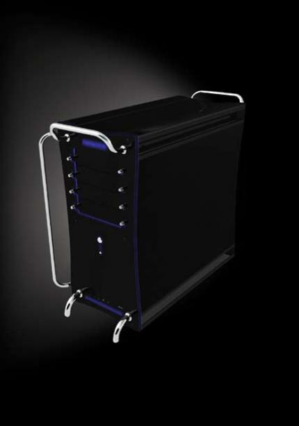The HSC-101 Thermalright's first self designed PC case. It is said to be able to cool even Quad Core processors on a passive principle.