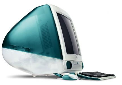 The original iMac was very popular.