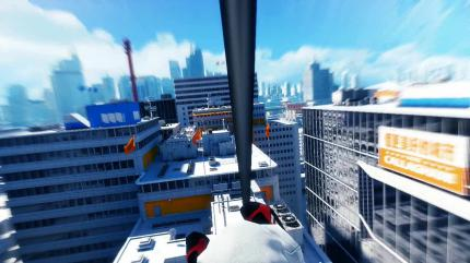 The official Mirror's Edge Physx trailer has been released.