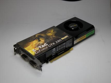 Zotac Geforce GTX 280 Amp-Edition (Bild: PCGH)