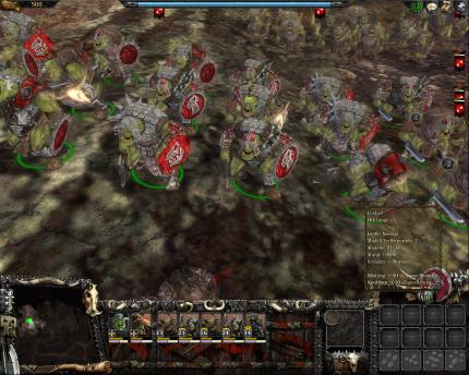 Furchterregende Einheiten in Warhammer: Mark of Chaos - Battle March