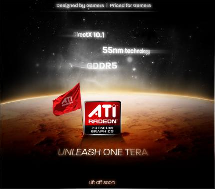 AMD: Unleash One Tera - Slogan and Website at the same time (picture: AMD)