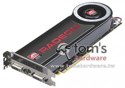 AMD Radeon HD 4870 X2: (picture: Toms Hardware)