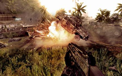 Crysis Warhead: No more special DirectX 10 effects