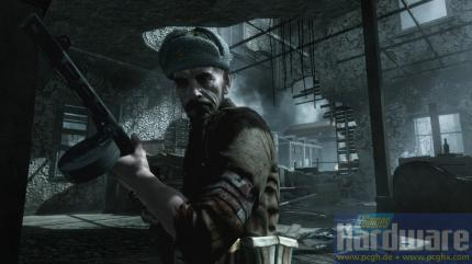 No visual differences in Call of Duty: World at War between PS3, Xbox 360 and PC version.