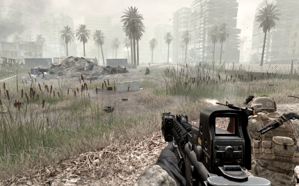 PCI-E 1.1 vs. PCI-E 2.0: Call of Duty 4 - Modern Warfare profitiert ebenfalls