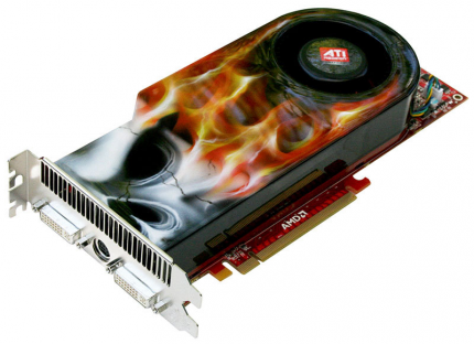 Diamond's HD 4870 XOC Black Edition looks red-hot. (picture: techpowerup.com)
