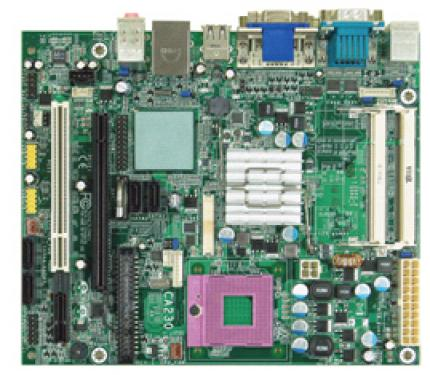 The CA230 BF offers everything a motherboard needs. (picture: DFI)